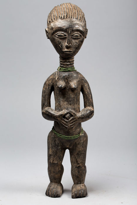 Colon figurine, Royal Hut Guardian - KULANGO - Ivory Coast