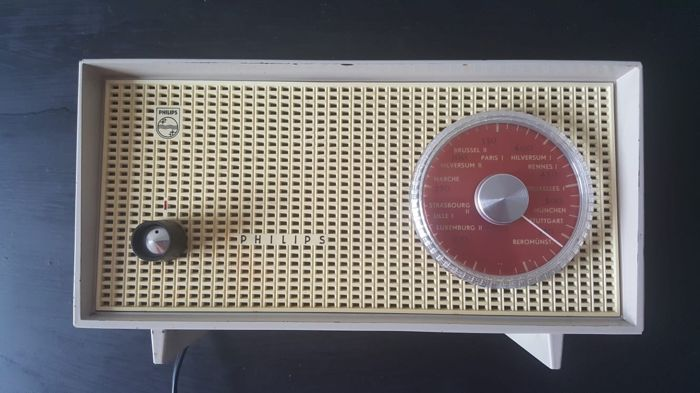Philips Picolette BOX 95 U /00K - 1959