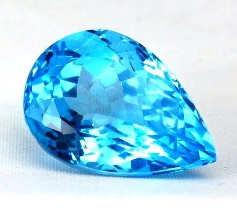 Blue Topaz – 19.87 ct. - No Reserve Price