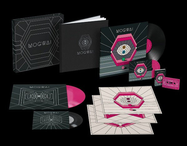 Mogwai ‎– Rave Tapes || Pink Vinyl || 45 RPM || Limited Edition || Hardback Photograph Book || Mint & Sealed