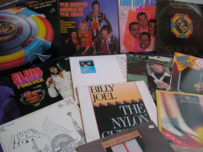 Great lot of Pop Rock Soul Albums from all kind of groups.