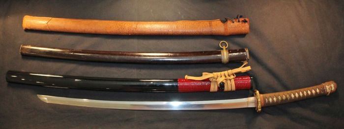 WW2 military Shin Gunto Japanese Katana Sword Set - Japan - 1939-45