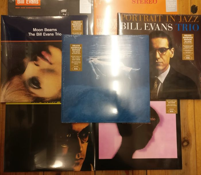 Seven albums of Bill Evans || Heavyweight Vinyl || Gatefold || Mint & Sealed