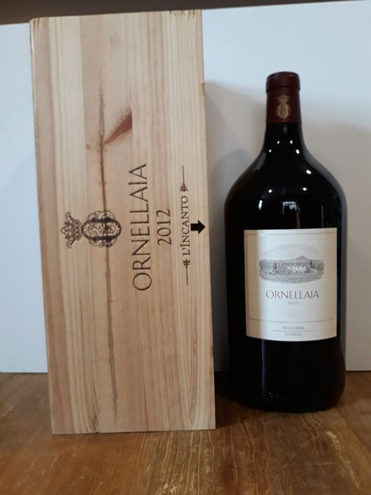 2012 Ornellaia Bolgheri Superiore, Tuscany - double magnum 3 ltr. in OWC