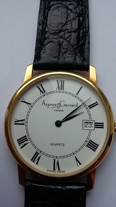 Asprey & Garrard - 18 carat Gold Watch - 4016519 - Heren - 2000-2010