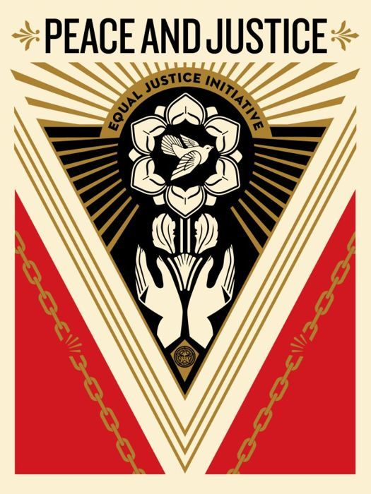 Shepard Fairey (OBEY) - Peace And Justice