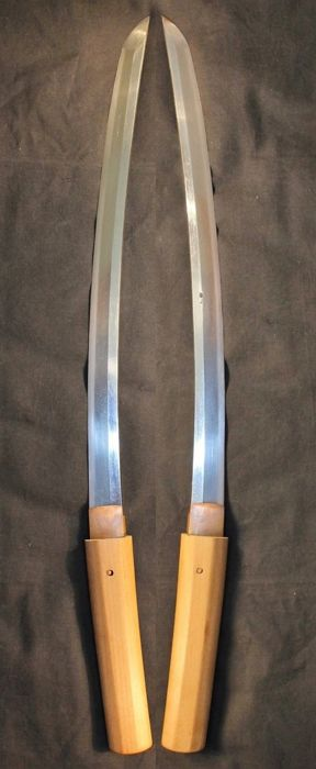 Signed Japanese Wakizashi Samurai sword - Japan - 18th century