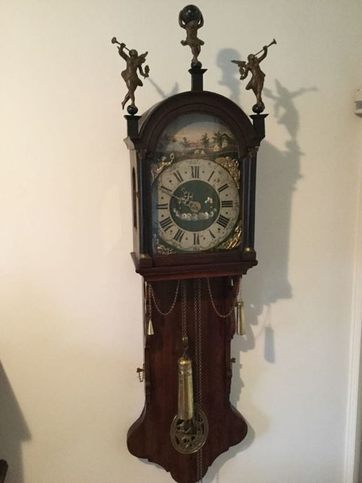 Frisian tail clock - period 1850