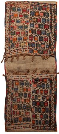 antique persian saddlebag 19th century
