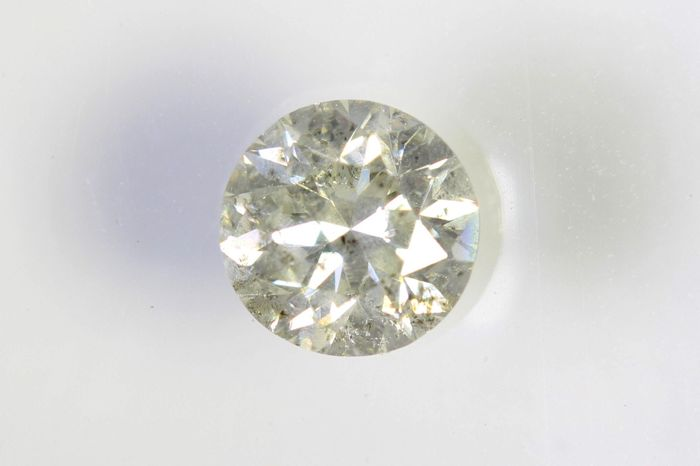 AIG Sealed Diamant - 0.50  ct - I , I2 - No Reserve Price