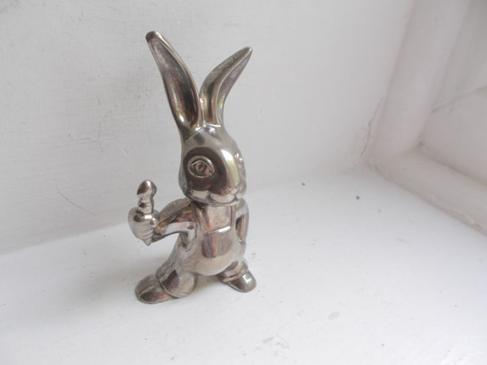 Embleem / Mascotte - Hare / Rabbit car mascot  - 1960-1970 (1 items)