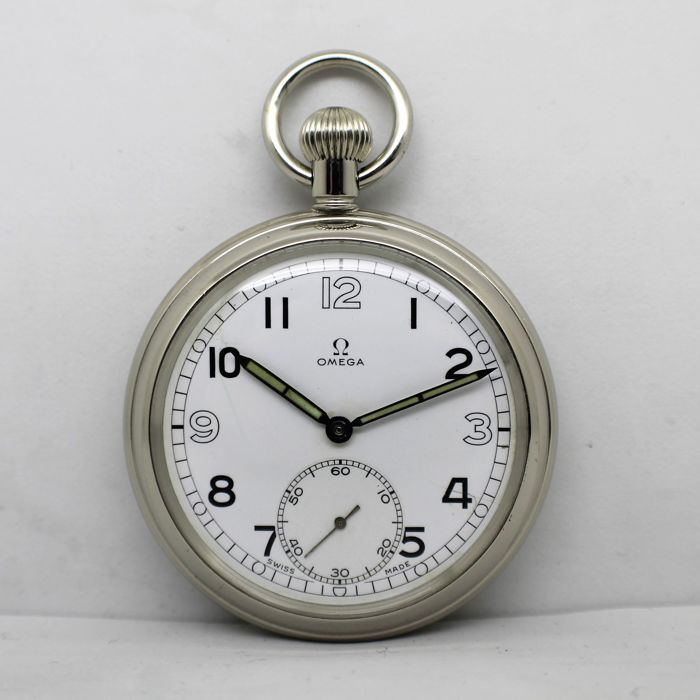 Omega - Pocket Watch G.S.T.P Y06747 - Heren - Ano-1943