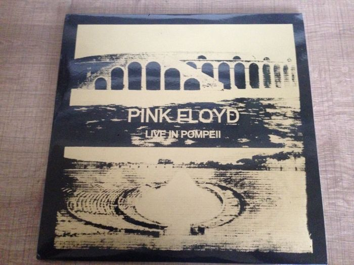 Lot of Pink Floyd- Double LP (2)- Live in Pompeii Limited Edition