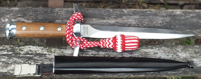 Swiss officer's dagger M1943 with portepee