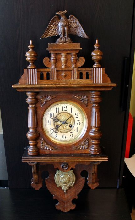 Junghans Clock, year 1913, beautiful state German style.