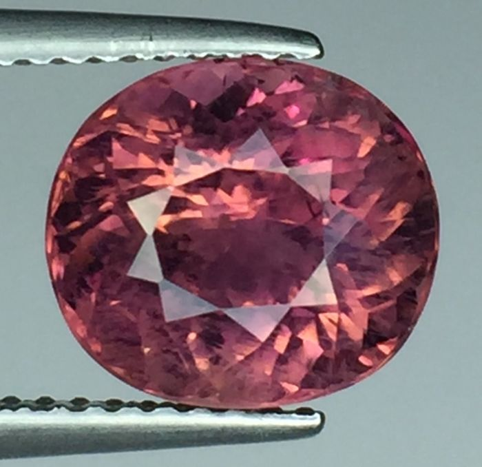 Purple pink tourmaline - 3.46 ct