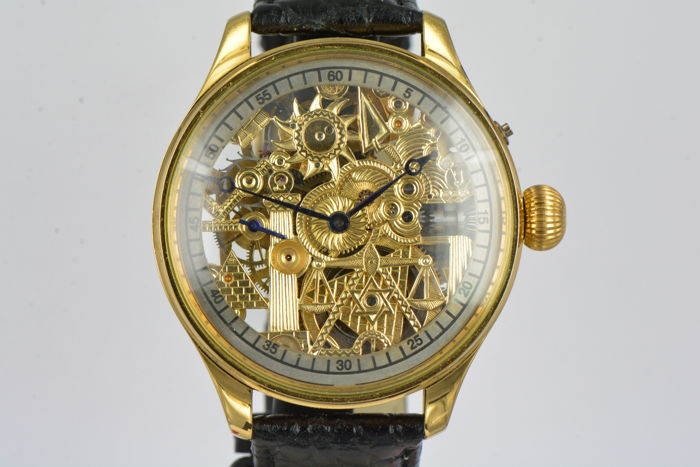IWC - Marriage watch Skeletonized - Heren - 1901-1949