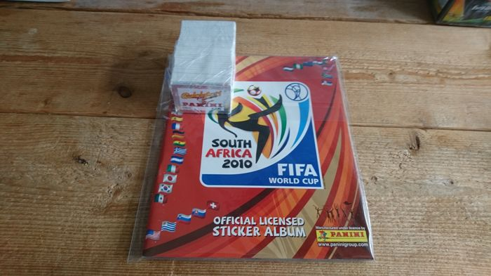 Panini - WK 2010 South Africa - Leeg album + complete set.