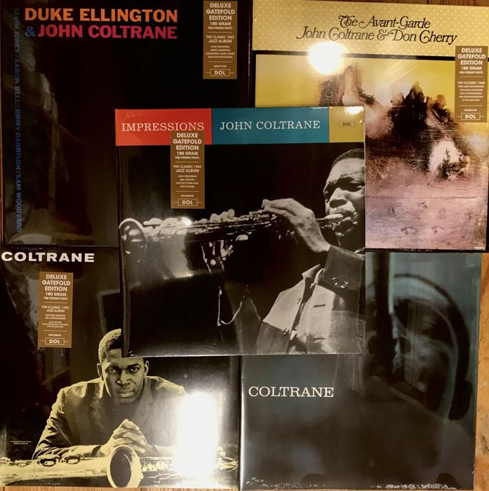 Five great John Coltrane albums || Heavyweight reissues || Mint & Sealed