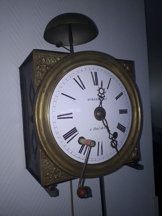 Station's Comtoise clock - period 1850–1900
