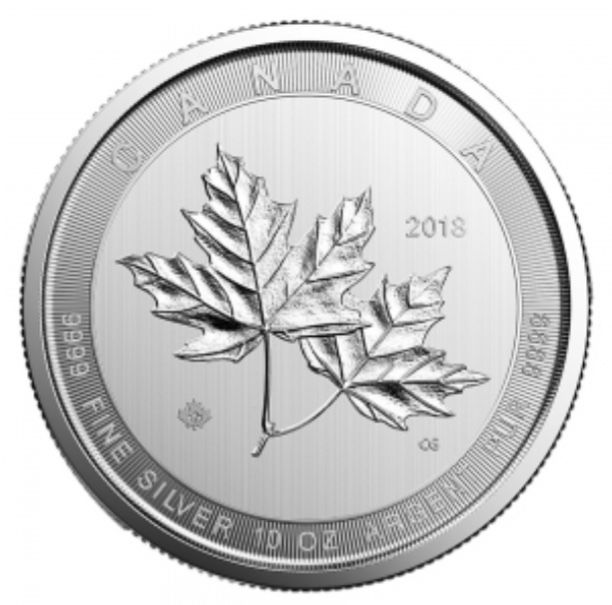 Canada - 50 Dollar 2018 - 10 oz Silver - (maple leaf magnificent)