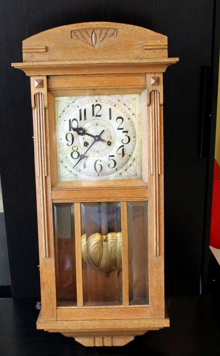 Gustav Becker clock - 1915 - in a very good condition