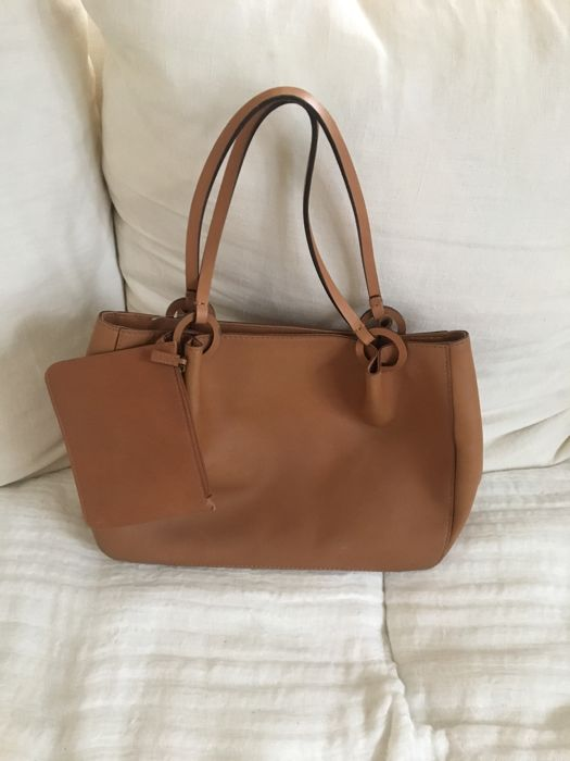c2721c115b Gucci - Sac en cuir Marron avec pochette Shoulder bag - Catawiki