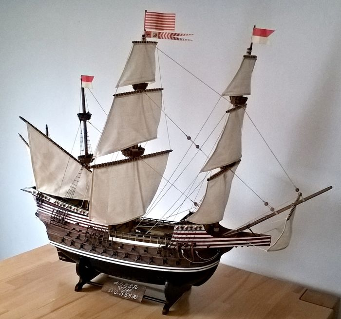 Eagle of Lübeck, model ship, sailing ship
