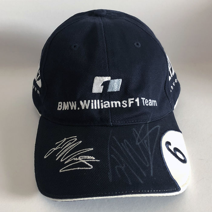 Juan Pablo Montoya BMW Williams F1 Cap - Catawiki b360d30289
