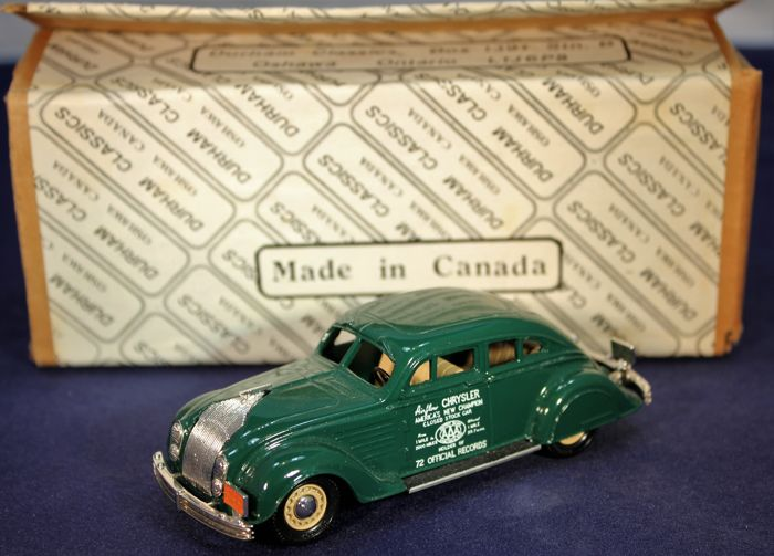 Durham Classics - Scale 1/43 - Chrysler Airflow 2 door Coupé  - No. DC-1A - very rare only 10 produced