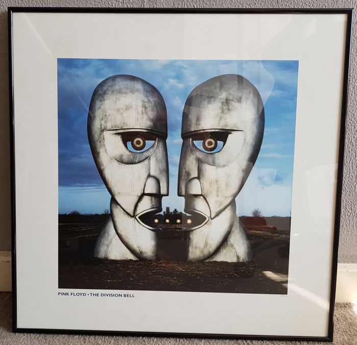 Pink Floyd - The Division Bell - High quality art print - 89/500