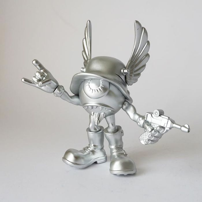 The Pizz voor Munky King - Eyegore, vinyl designer toys limited edition 89/500.