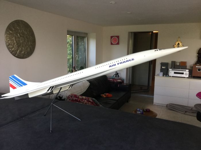 Very large model aircraft Concorde Air France