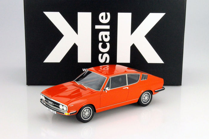 KK Scale - 1:18 - Audi 100 Coupé S 1970 - Limited Edition or 400 pcs. (Individually Numbered)