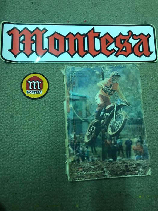 Old Montesa instruction manual
