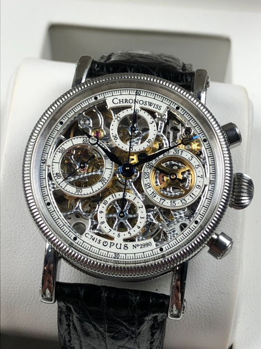 Chronoswiss - Opus Skeleton Chronograph Automatic - CH7523 - Men - 2000-2010