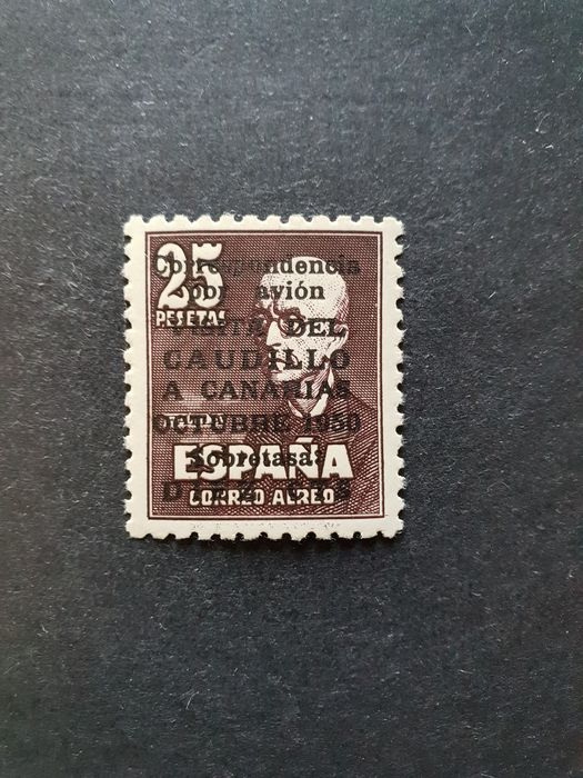 Spain 1951 - Visit of the Caudillo to Canarias - Edifil 1090
