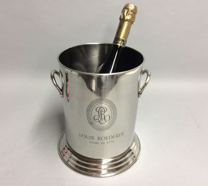 Champagne Cooler with two handles, Roederer,  21st century