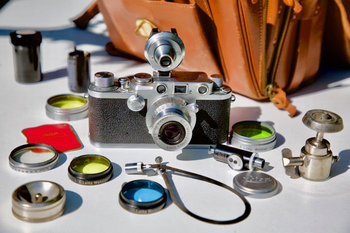 Leica Iii Entfernungsmesser : Case with leica iiif red dial and several accessories catawiki
