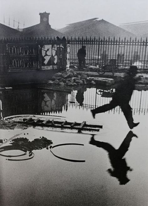 Henri Cartier-Bresson (1908-2004) - Behind the Gare Saint-Lazare, 1932