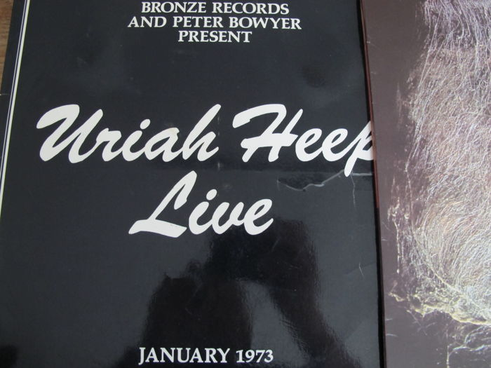 Great Lot with 6 great Albums of Uriah Heep - Catawiki