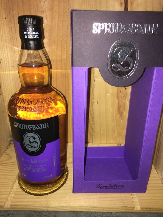 Springbank 18 years old - 0,7 Liter