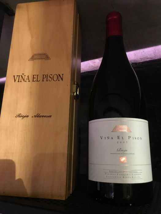 2007 Viña el Pison Red Wine Artadi x 1 magnum in OWC