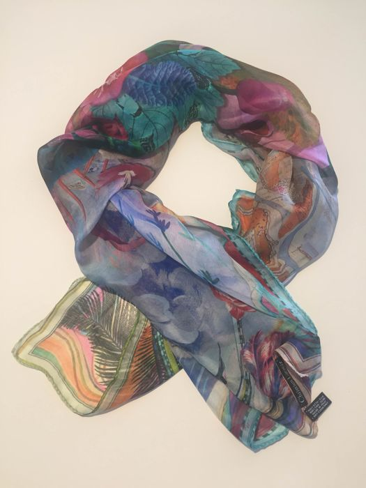 CHRISTIAN LACROIX multicoloured shawl