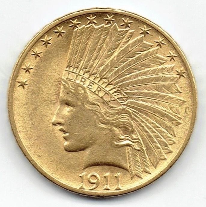 Verenigde Staten - 10 Dollars 1911 Indian Head - Goud