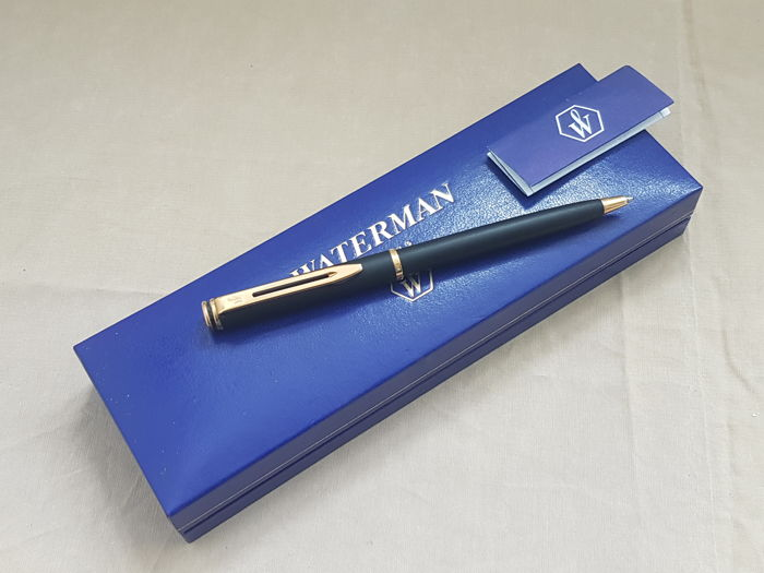 Waterman Maestro Black Lacquer GT Ballpoint New
