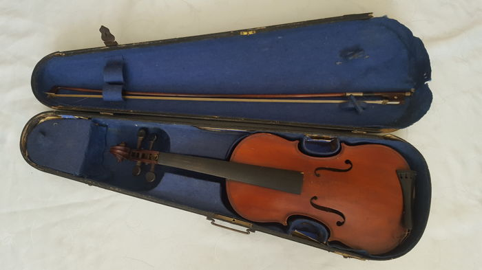 A late 19th century continental violin