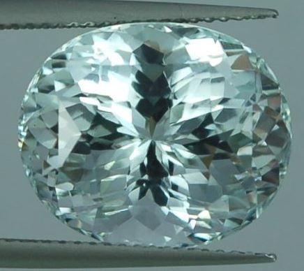Aquamarine  – 12.78 ct.