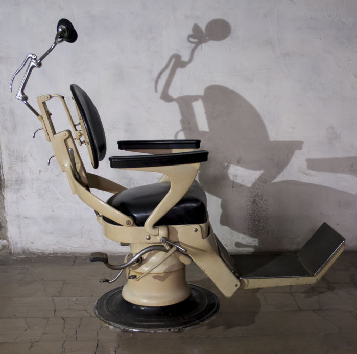 1950s Chirana Dentist Chair, Italy