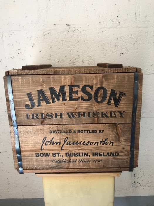 Jameson wooden crate